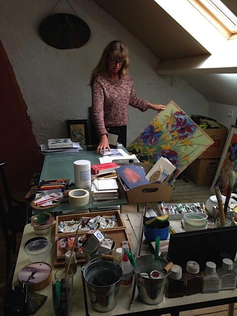 Me in my Studio
