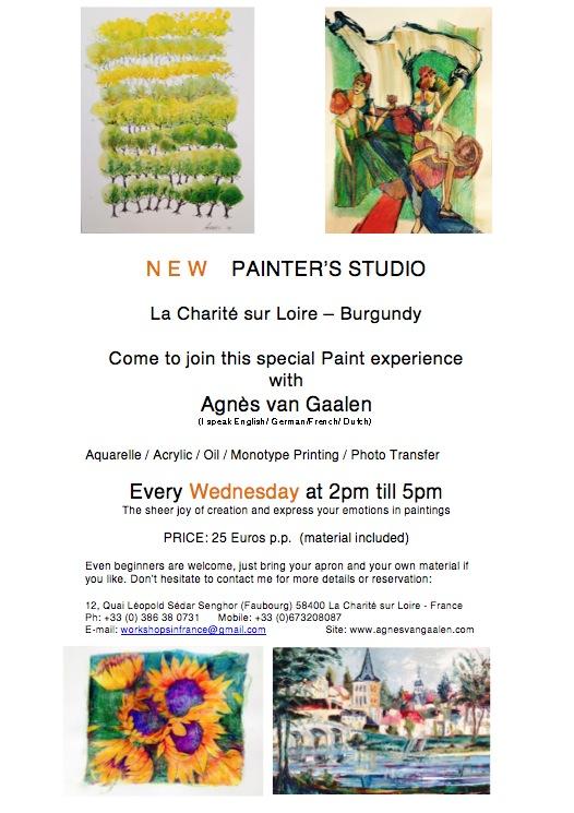 Workshop with Agnes van Gaalen