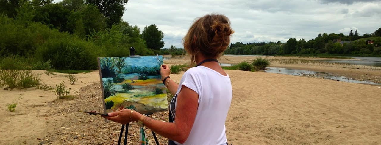 Workshop Painting with Agnes van Gaalen in La Charité sur Loire