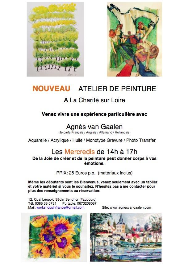 Atelier de Peinture - La Charité sur Loire