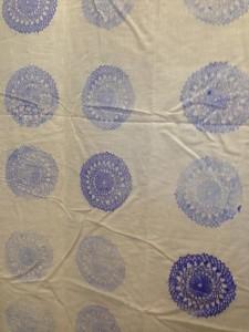 Lace on textile